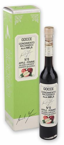 J0225 Apple Balsamic Condiment - 8 Travasi (100 ml - 3.38 fl. oz)